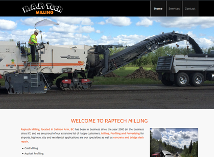 Raptech Milling, Salmon Arm, BC